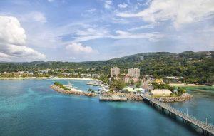 Vue de Montego Bay, Jamaïque